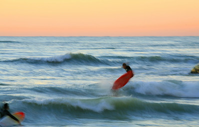Florida surfing, Gulf coast surfing